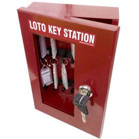 KRM LOTO – LOCKABLE LOCKOUT TAGOUT KEY STATION -2251655