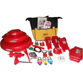 KRM LOTO - LARGE MECHANICAL LOCKOUT TAGOUT KIT