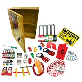 KRM LOTO - LOCKOUT TAGOUT ELECTRICAL SAFETY KIT - 8014