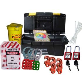 MINI ELECTRICAL LOCKOUT TAGOUT BOX -21