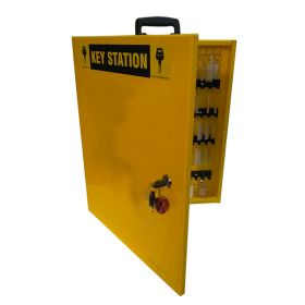KRM LOTO – LOCKOUT KEY STATION 5– Opaque fascia-18152 WITHOUT MATERIAL