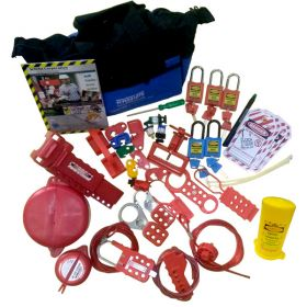 KRM LOTO – OSHA LOCKOUT TAGOUT BASIC STARTER KIT-4073