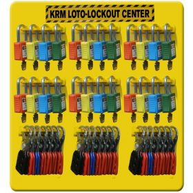Loto  Padlocks  & Hasp Center / Station - without Material