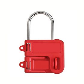 Plastic body Lockout Hasp having 2 holes