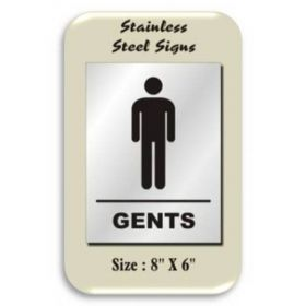 10pcs STAINLESS STEEL SIGNS