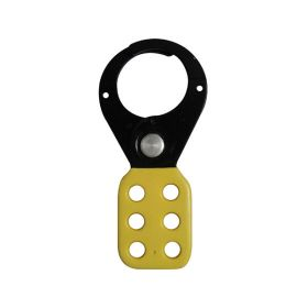 Vinyl Molded coated Hasp - Premier -Jaw dia-38/39mm - YELLOW