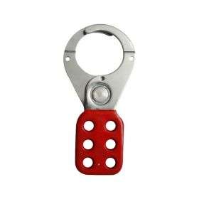 Vinyl Molded coated Hasp - Premier -Jaw dia-38/39mm - RED
