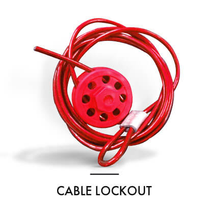 CABLE LOCKOUT