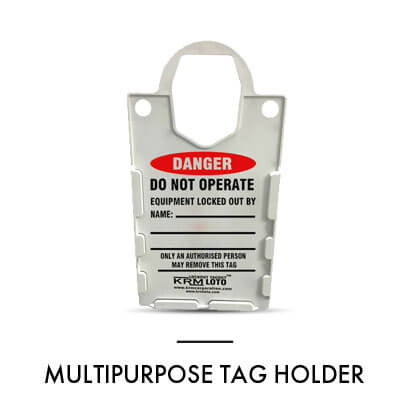 MULTIPURPOSE TAG HOLDER